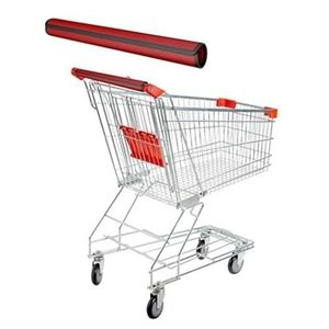 Shopping Cart Handle Covers One Size. Red